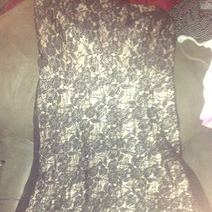 Ann Taylor loft strapless dress, 8